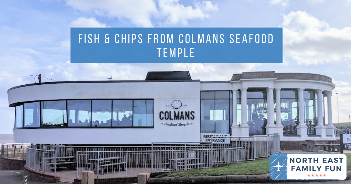 Fish & Chips from Colmans Seafood Temple : A Review