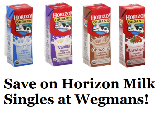 photo about Wegmans Printable Coupon called Horizon Natural and organic Milk Singles Coupon Will save On your own Far more At