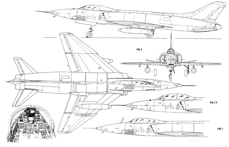 HF-24 Marut Aircraft Indian Air Force IAF - 003 - TN