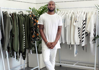 Picture of Shannon's husband Virgil Abloh