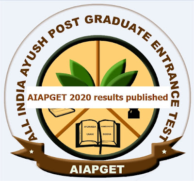 AIAPGET 2020 results published