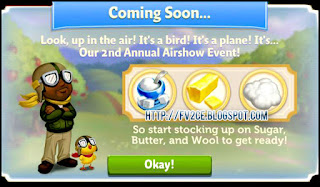 FarmVille 2: Country Escape will have a Second Annual Air Show