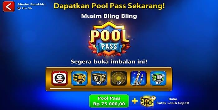 Cara Beli Pool Pass Premium 8 Ball Pool Pakai GOPAY