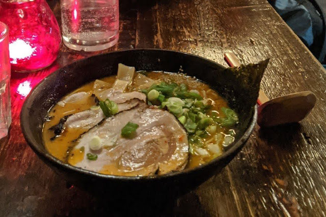 Dinner at The Ramen Bar on South William Street in Dublin City Centre