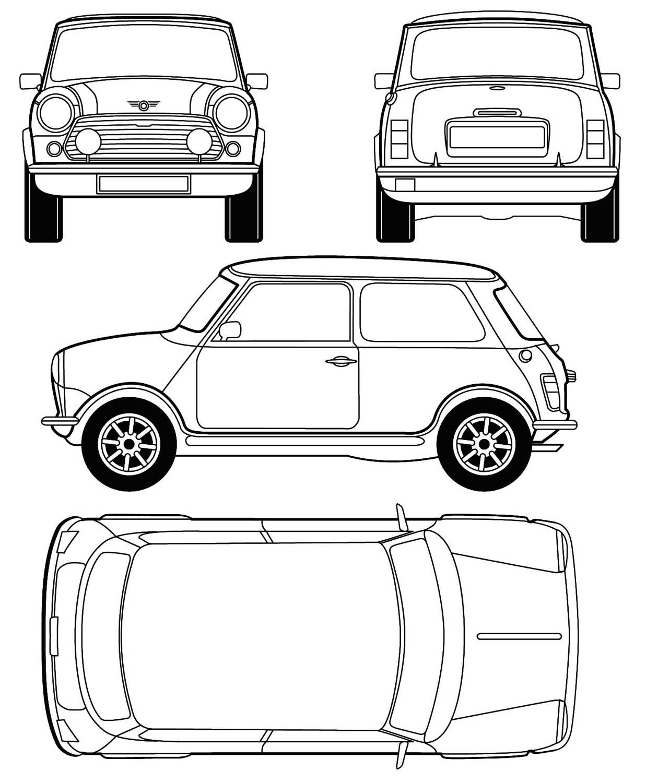 3d Auto Club Blueprints