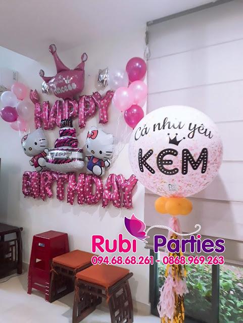 Shop bán bóng trang trí sinh nhật đẹp ở Gia Lâm