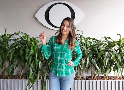 Kalinka Schutel é o novo reforço do jornalismo esportivo da Band. Crédito: Tayna Andrade/Band