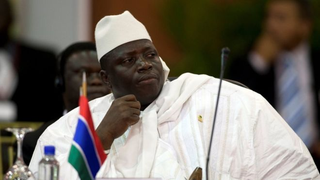 The Gambia's president declares state of emergency