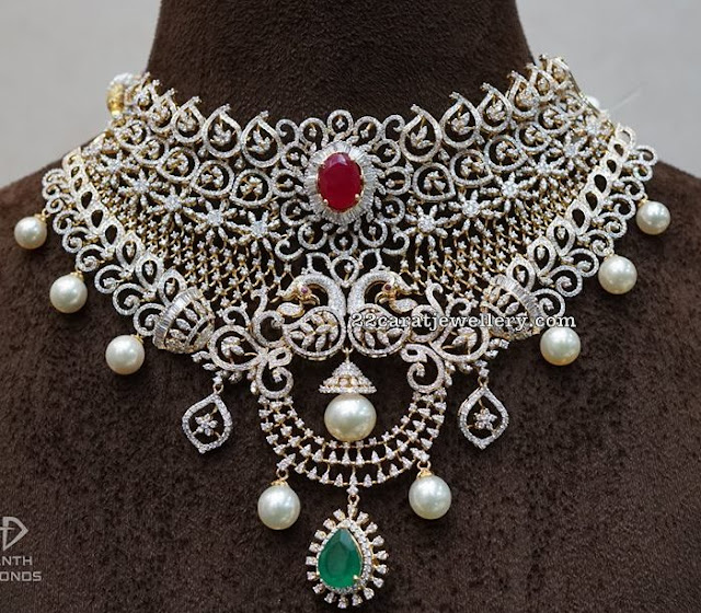 Peacock Diamond Sets by Ananth Diamonds