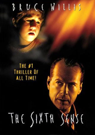 Poster of The Sixth Sense 1999 Dual Audio 720p Hindi BRRip With ESubs Download