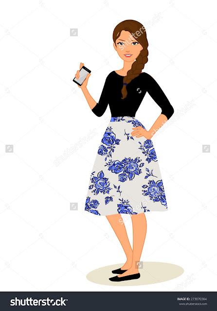 Dancing Girl Wallpapers For Mobile Phones Cartoon Girl