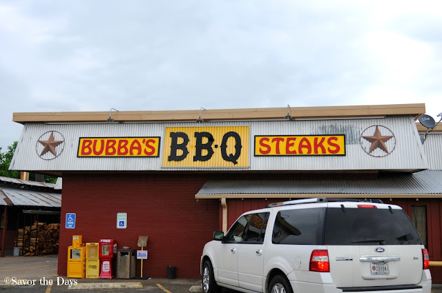 Bubbas BBQ in Ennis Texas