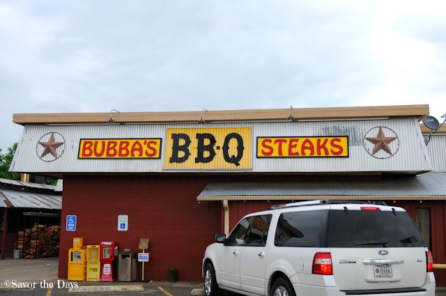 Bubbas BBQ in Ennis Texas
