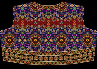 Ghaghra Choli Design Back 2488