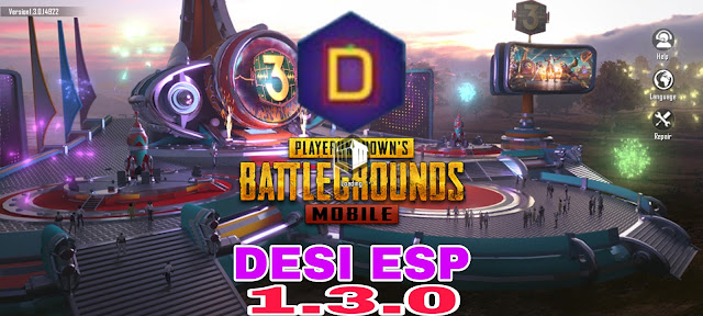 Download New Desi Esp PUBG MOBILE New Update 1.3.0 and how to use ?