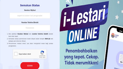 Semakan Status Kelulusan i-Lestari KWSP Online (Tarikh Bayaran)