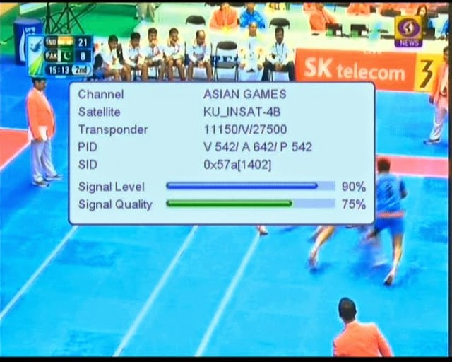 Asian Games Channel Removed, Showing Blank Screen