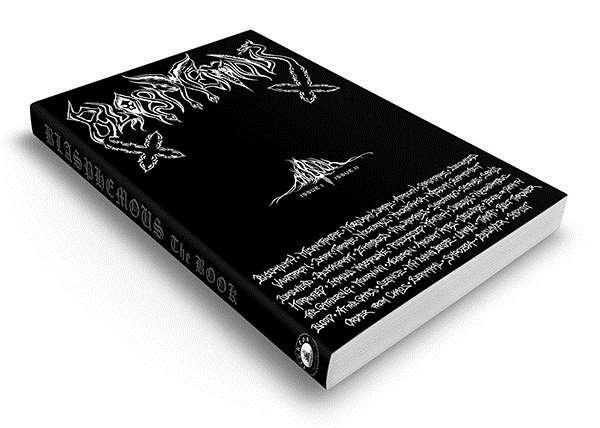 BLASPHEMOUS The BOOK:  Η Death/Black metal σκηνή της δεκαετίας του '90 σε ένα βιβλίο