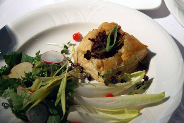 Smoked Beef on a puff pastry and salad from Hotel Selkirk (FEASTival of Fine Chefs)