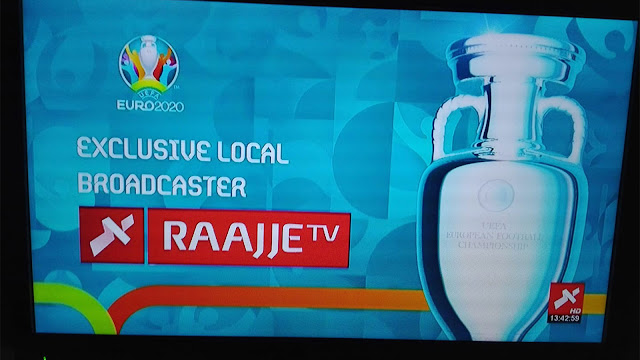 Cara Nonton Euro 2020 Gratis di Raajje TV Apstar 7