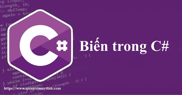 Biến trong C#