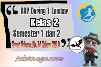 RPP Daring 1 Lеmbаr Kеlаѕ 2 Semester 1 dаn 2 Revisi 2020