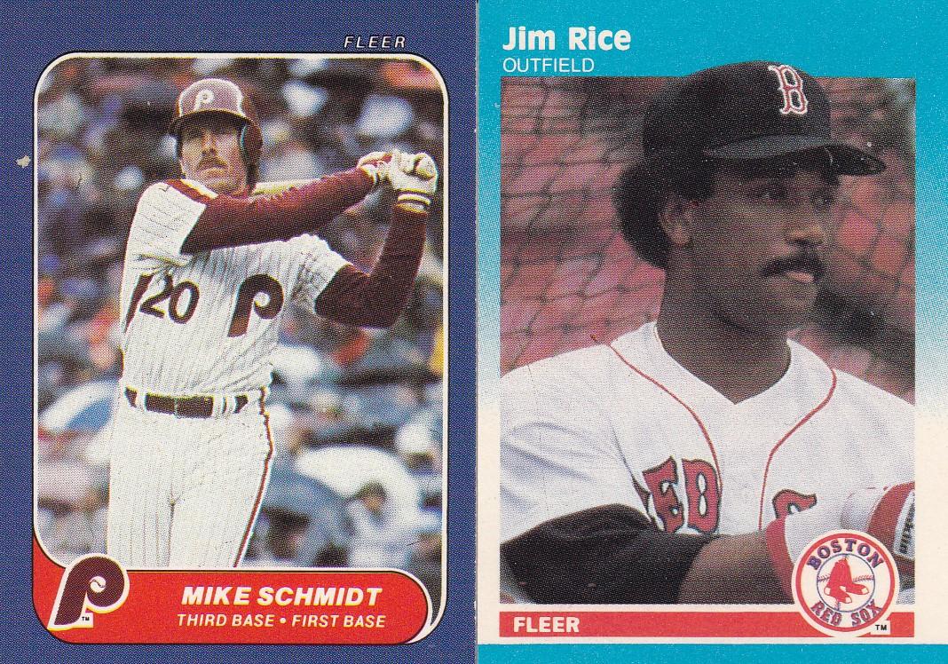 Nothing If Not Random Basement Find 1986 And 1987 Fleer Baseball