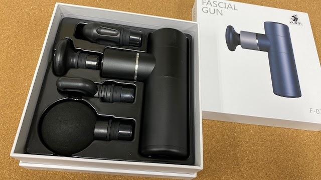 【好物介紹】日本 黒い FASCIAL GUN 按摩槍 放鬆全身的肌肉