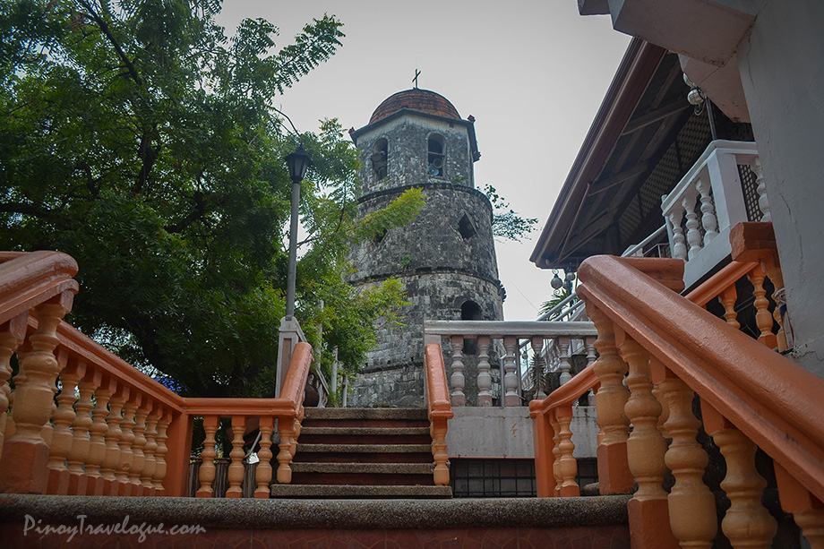 Dumaguete Belfry seen from the cathedral