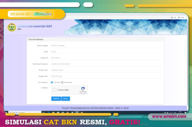 ARNAIM.COM | SIMULASI CAT BKN RESMI, GRATIS !