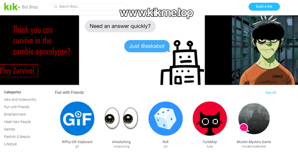 Kik Messenger Bot