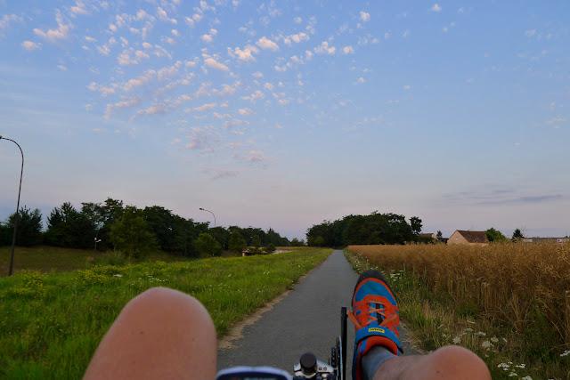 En vélo couché de Paris à la Normandie