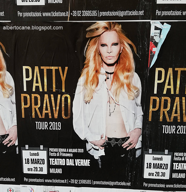 Patty Pravo tour 2019