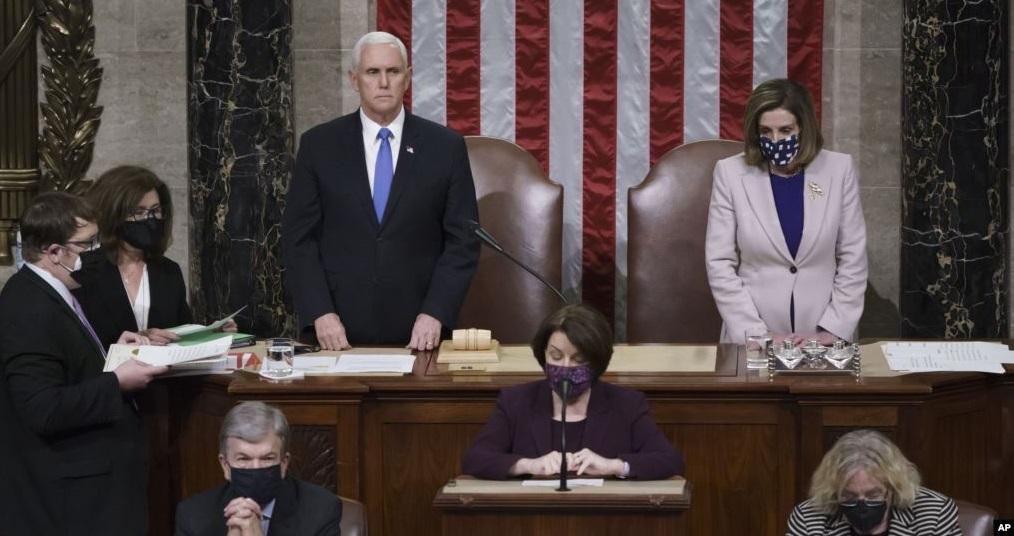 Kongres Sahkan Kemenangan Biden, Trump Siap Transisi Kepemimpinan