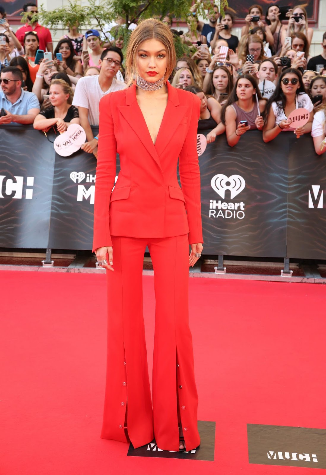 HD Photos of Gigi Hadid at iHeartRADIO MuchMusic Video Awards 2016 in Toronto, Canada