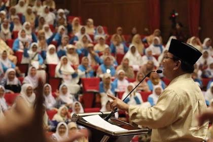 Prabowo Minta Pendukung Samina Waathona Di Jalan Damai