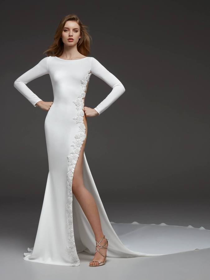 Say NO To The Stress - Fall Wedding Dress Ideas