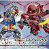 SDCS RX-78-2 Gundam & Char's Zaku II Set - Release Info