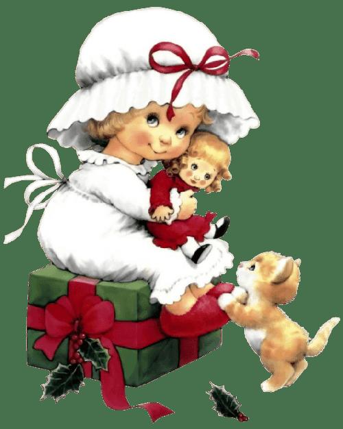 Cute Christmas Iphone Wallpapers Imagenes Infantiles De Navidad Png