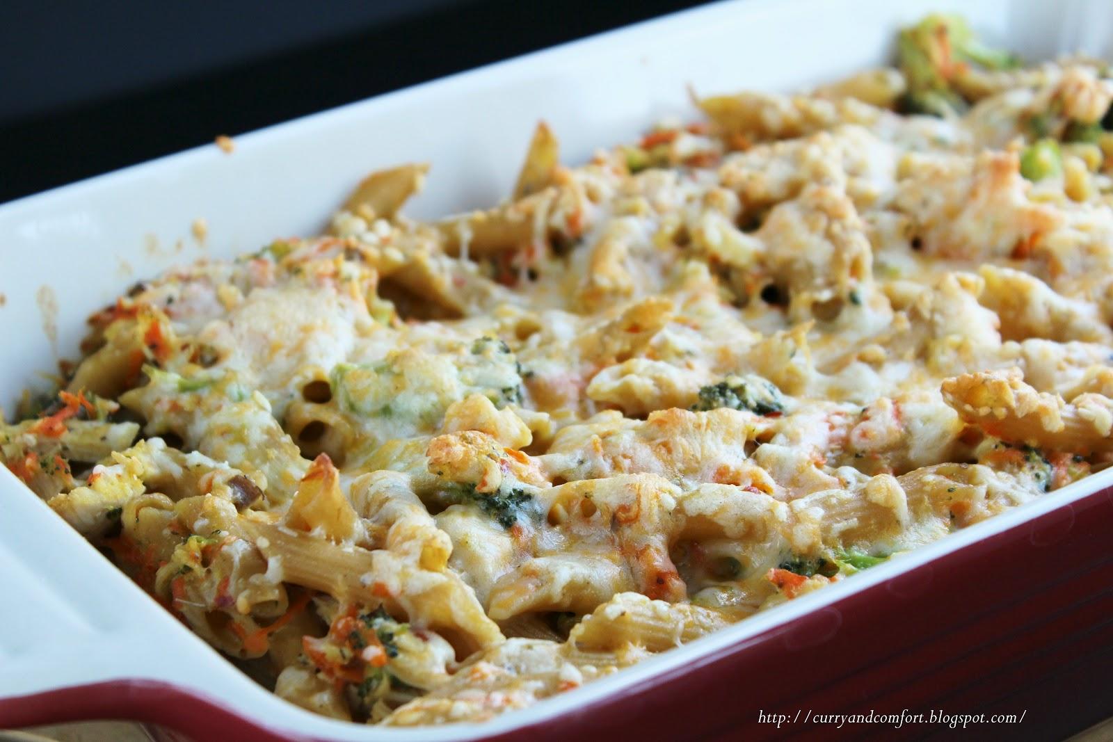 Kitchen Simmer: Creamy Chicken and Pasta Casserole