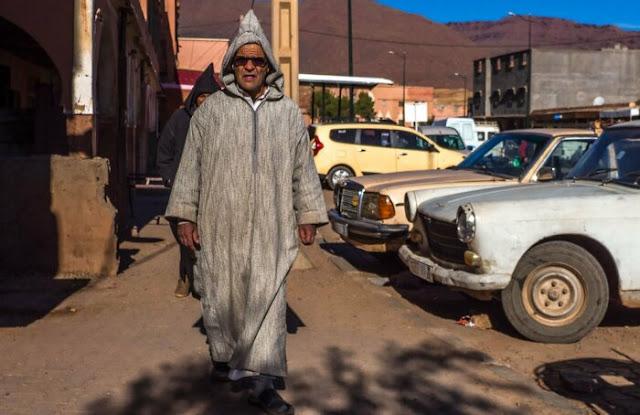 Vestido nacional marroquino