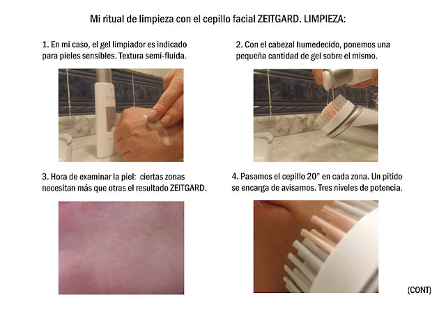 LIMPIEZA FACIAL CEPILLO LIMPIEZA ZEITGARD