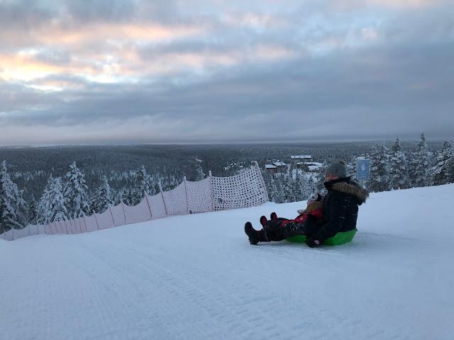 Suomen pisin pulkkamäki kokemuksia
