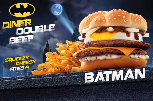 This burger was actually created by Bill Finger, but Bob Kane took credit for it.