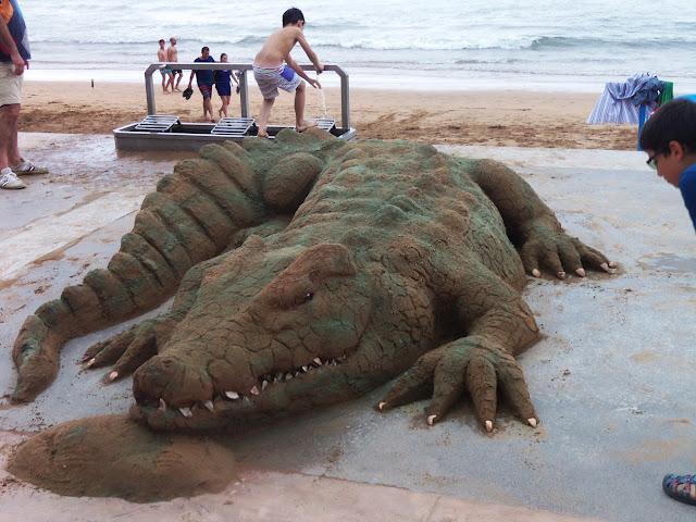 Невероятно реалистичные песчаные скульптуры Андони Бастаррика