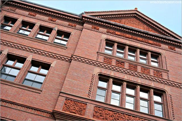 Sever Hall en la Universidad de Harvard