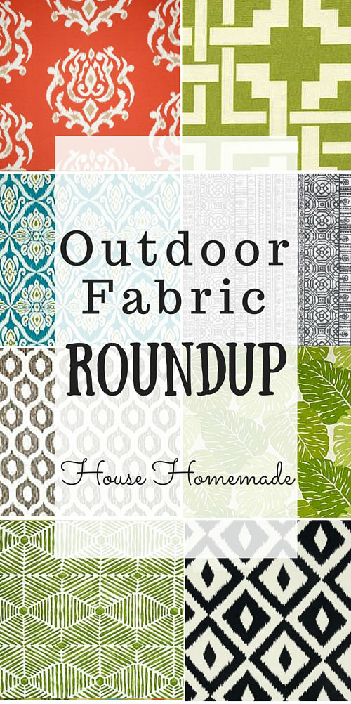 Outdoor Fabric Roundup