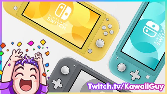 Sorteio de um Nintendo Switch Lite - Participe!!