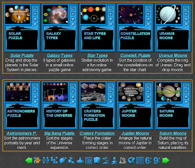 Astronomy Puzzles