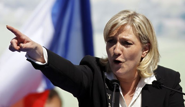 Γαλλία: Πρώτη η Λεπέν, κερδίζει τον Μακρόν με 0,9%